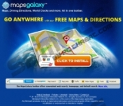 MapsGalaxy Toolbar