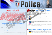 Police Nationale Virus